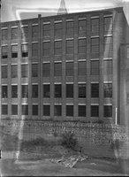 Buildings, storage tanks, north shore of Park River, Hartford