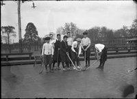 Boys field hockey team, Colt Park, Hartford (1921)