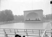 Band shell, Colt Park, Hartford (1921)