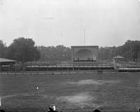 Band shell and pavilion, Colt Park, Hartford (1921)