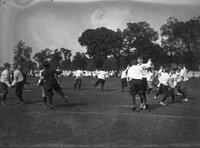 Boys dancing, Hartford park