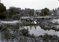 Bridge over stream construction (Wellington Street), Hartford, June 23, 1923