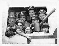 Airmen returning home, Bradley Field, Windsor Locks, May 22, 1945