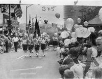 Back to school parade, Hartford, 1968