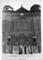 Ados Israel Synagogue,  Market Street, Hartford, 1961