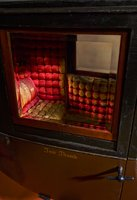 Physical object: Miniature Carriage for General Tom Thumb (Charles S. Stratton) (coach interior)