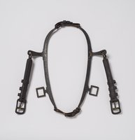 Physical object: Pony collar belonging to one of Charles S. Stratton's ponies