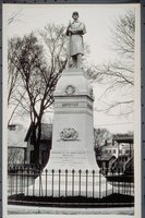 Civil War Soldiers' Monument (southwest side), Mystic