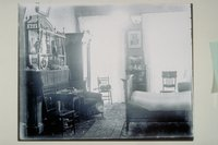 Bedroom in Grinnell home, 40 East Main Street, Mystic