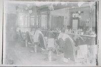 Barber shop interior, Mystic