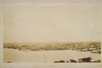 Looking west from the Groton Monument, Fort Griswold, Groton