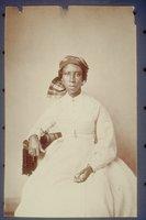 African American woman in a turban