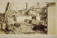 Aft area of the schooner Blossom (Schooner)