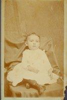 Annie Latham as a child