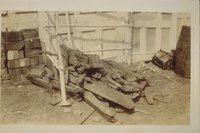 Ballast used on the schooner Blossom