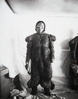 "Aivilik Inuit woman (""""Jumbo"""") with tattoos, Hudson Bay, Canada"