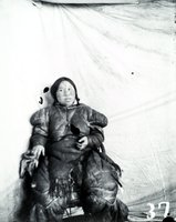 Aivilik Inuit woman with Netsilik tattoos, Hudson Bay, Canada