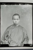 Young Chinese man in traditional clothing