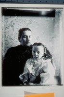Ada Newbury of Mystic with mother Annie