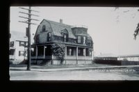 House at corner of Broadway and Washington Street, Mystic
