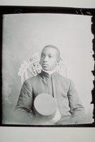 African American man in uniform