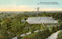 Greenhouse and Grounds of Mr. O.G. Jennings, Fairfield, Conn.