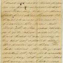 Letter of Joseph Cross, Undated, Fragment 2