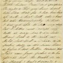 Letter of Joseph Cross 1865 March 02