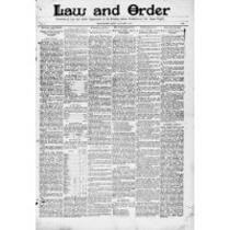 Law and order, 1893-01