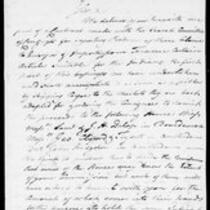 Silas Deane Papers: Correspondence Robert Morris to Silas Deane 1776 March 1, 10, 30
