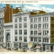 Bankers Row, Main Street, Hartford