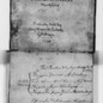 American Revolution Collection: David Culver's orderly book, 1778
