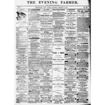 Evening farmer (Bridgeport, Conn.), 1864-1866