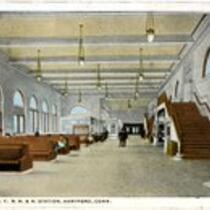 Interior, N.Y.N.H. & H. station
