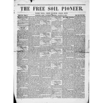 Free Soil pioneer, 1848