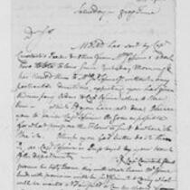 American Revolution Collection: Correspondence of Royal Flint, 1778-1779
