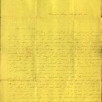 Letter from Charlotte to Samuel Cowles, 1833 February 22.