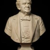 Sculpture: Bust of P. T. Barnum by Thomas Ball