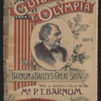 Booklet: The District Railway Guide to Olympia and Barnum and Baileys Great Show with