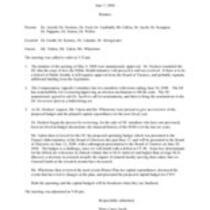 2006-06-07 Minutes
