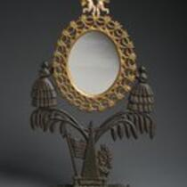Physical object: Jenny Lind dressing mirror
