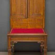 Furniture: Secretary desk made for P. T. Barnum by Julius Dessoir
