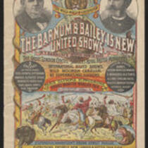Courier: The Barnum and Bailey 15 New United Shows for Monday, April 22, 1889