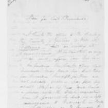John Trumbull Papers: Letters to John Trumbull from Samuel Hopkins, 1807-1819
