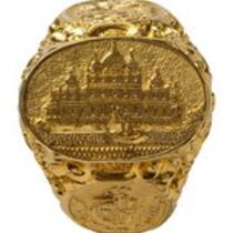 Physical object: P. T. Barnum's gold ring