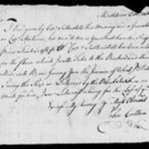 Silas Deane Papers: Barnabas Deane: Correspondence with John Hancock, Jeremiah Wadsworth, etc., 1775 November 2-1776 June 7