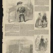 Newspaper: Illustrated London News featuring General Tom Thumb as Frederick the Great