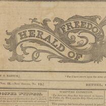 Herald of Freedom and Gospel Witness