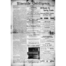 Riverside intelligence, <1891-1892>