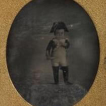 Photograph: General Tom Thumb (Charles S. Stratton) as Napoleon